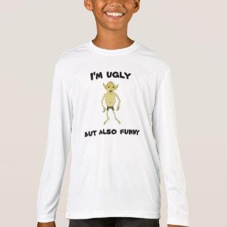 Camiseta Eu sou feio mas também engraçado