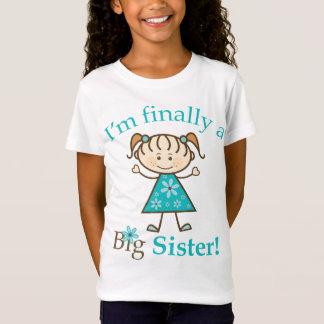 Camiseta Eu sou finalmente uma figura menina da vara da