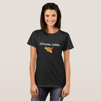 Camiseta Eu sou formulário Camisa-Feminino do dialecto