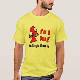 Camiseta Eu sou fungos