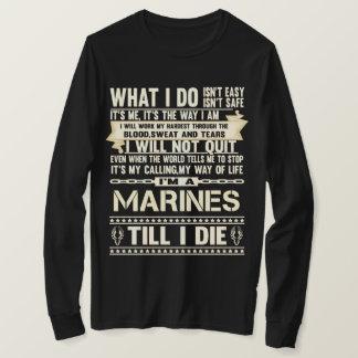 Camiseta Eu sou FUZILEIROS NAVAIS. T-shirt do presente