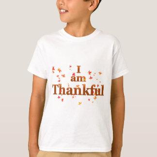 Camiseta eu sou grato