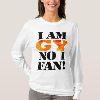 Camiseta Eu sou GY nenhum t-shirt de 1 fã (longo)
