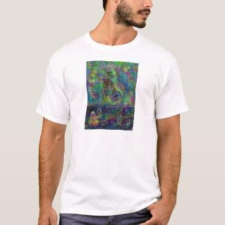 Camiseta eu sou hopscotch sem o T da arte do cobrir do