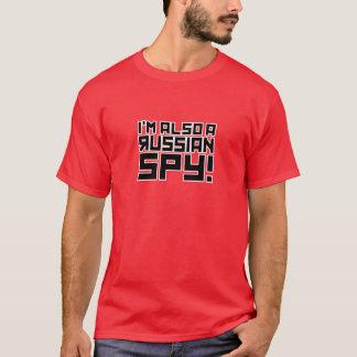 Camiseta Eu sou igualmente um espião do russo