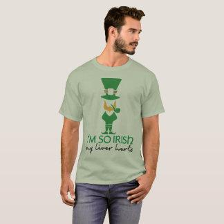 Camiseta Eu sou Leprechaun tão irlandês