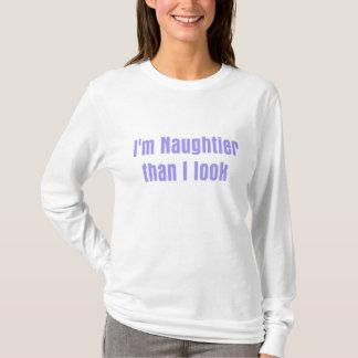 Camiseta Eu sou mais impertinente do que eu olho