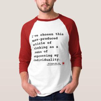 Camiseta Eu sou minha própria pessoa