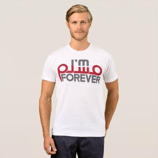 Camiseta Eu sou muçulmano para sempre