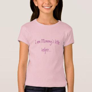 Camiseta Eu sou o ajudante pequeno da mamã .....