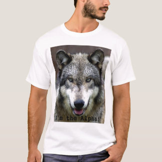 Camiseta Eu sou o alfa!