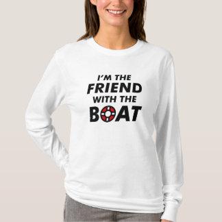 Camiseta Eu sou o amigo com o barco