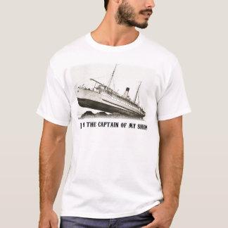 Camiseta Eu sou o capitão de meu navio