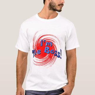 Camiseta Eu sou o chefe