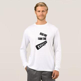 Camiseta Eu sou o diretor Longo Luva T-shirt