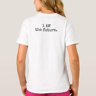 Camiseta eu SOU o futuro. T-shirt da criança