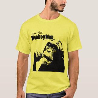 Camiseta Eu sou o homem do macaco