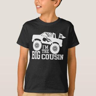 Camiseta Eu sou o monster truck grande do primo