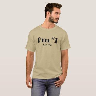 Camiseta Eu sou o número 1