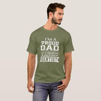 Camiseta Eu sou o PAI do DENTISTA ORGULHOSO