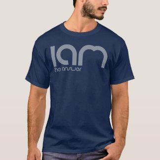 Camiseta Eu sou o t-shirt da resposta (logotipo) - homem