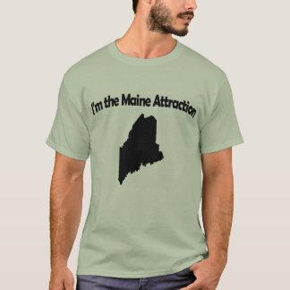 Camiseta Eu sou o t-shirt engraçado de Maine da atração de
