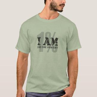 Camiseta Eu sou o um por cento! 1%