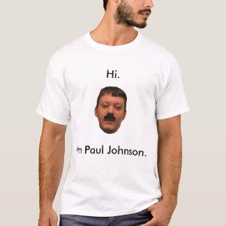 Camiseta Eu sou Paul Johnson