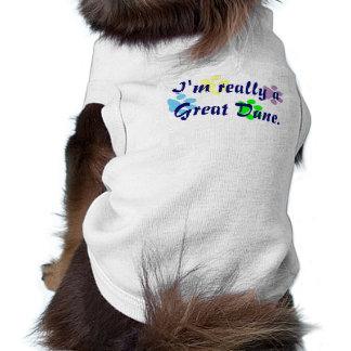 Camiseta Eu sou realmente uma camisa do animal de estimação
