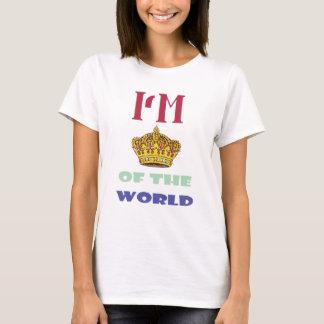 Camiseta eu sou rei do mundo