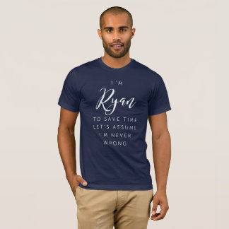 Camiseta Eu sou Ryan