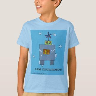 Camiseta Eu sou seu robô!