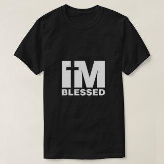 Camiseta Eu sou t-shirt abençoado