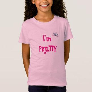 Camiseta Eu sou t-shirt bonito das meninas