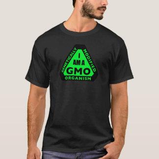 """Camiseta """"EU SOU t-shirt de GMO"""": Verde"""