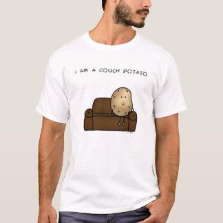 Camiseta Eu sou t-shirt de um viciado em televisão
