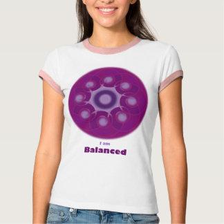 Camiseta Eu sou t-shirt equilibrado