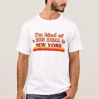 Camiseta Eu sou tipo de uma GRANDE COISA em New York