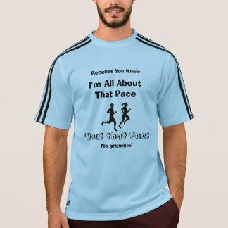 Camiseta Eu sou toda sobre esse ritmo - funcionamento de