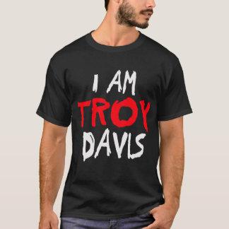 Camiseta Eu sou Troy Davis -- T-shirt