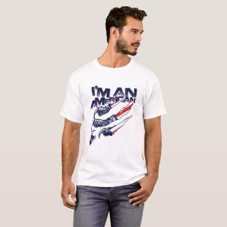 Camiseta Eu sou um americano