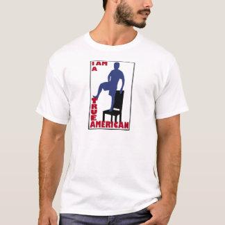 Camiseta Eu sou um americano verdadeiro