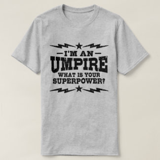 Camiseta Eu sou um árbitro o que é sua superpotência