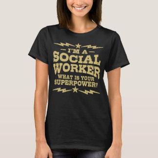 Camiseta Eu sou um assistente social o que é sua