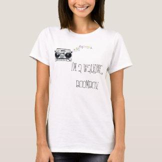 Camiseta Eu sou um Boombox de passeio