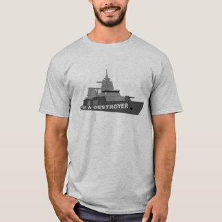 Camiseta Eu sou UM CONTRATORPEDEIRO