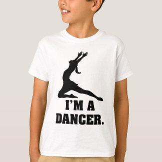 Camiseta Eu sou um dançarino