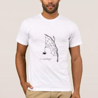 Camiseta Eu sou um desenhista da Web