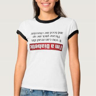 Camiseta Eu sou um diabético