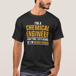 Camiseta Eu sou um engenheiro químico